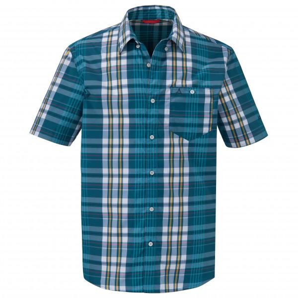 Schöffel - Shirt Kuopio UV Hemd Gr S blau/grau/türkis Sale Angebote Lieskau