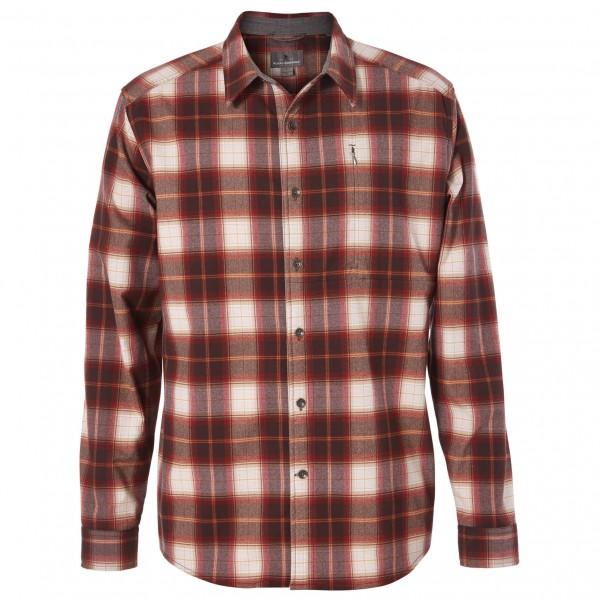 Royal Robbins - Merinolux Flannel L/S - Hemd Gr L rot/braun Preisvergleich