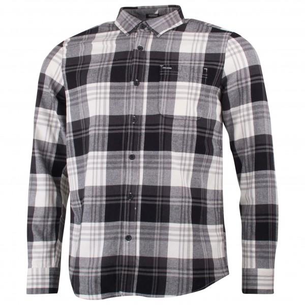 Volcom - Caden L/S Hemd Gr XL grau/schwarz