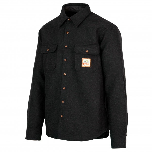 Picture - Colton Shirt - Hemd Gr L schwarz