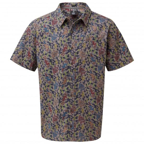 *Sherpa – Durbar Shirt – Hemd Gr S grau/braun/schwarz*