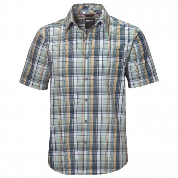 Marmot - Lykken S/S - Hemd Gr S grau 44060-4995-S