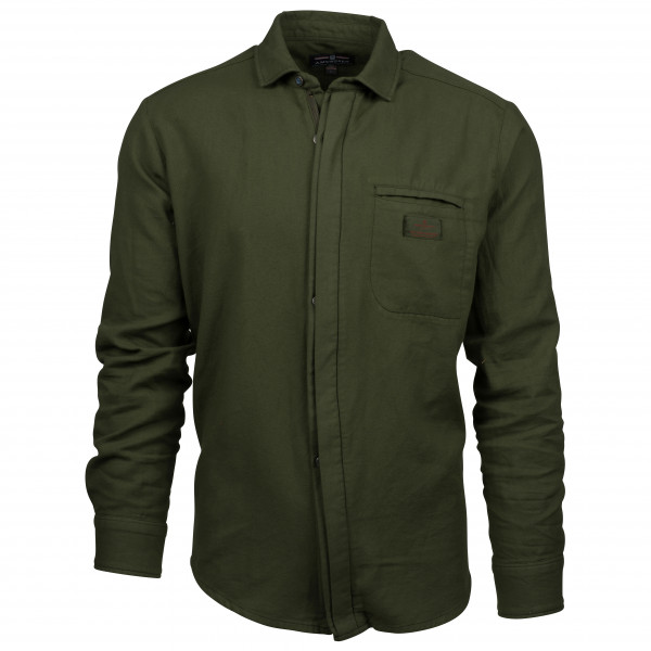 Amundsen Sports - Vagabond Shirt Garment Dyed - Hemd Gr XXL schwarz/oliv Preisvergleich