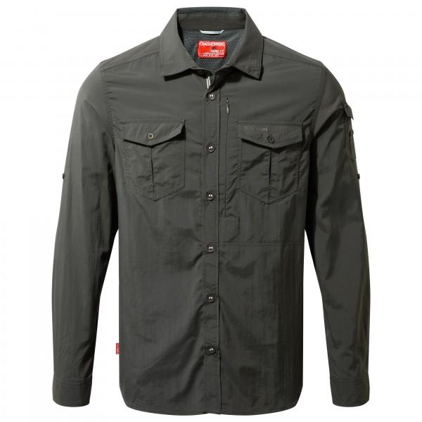 Craghoppers - Nosilife Adventure L/s Shirt - Shirt Size L  Black
