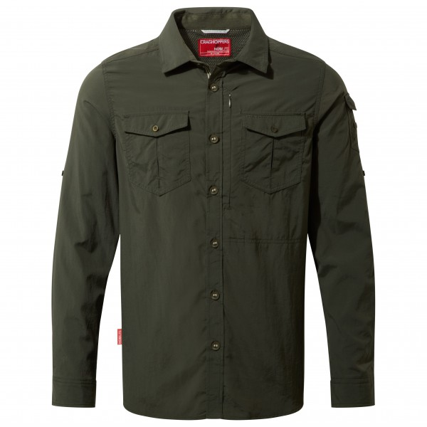 Craghoppers - Nosilife Adventure L/s Shirt - Shirt Size 4xl  Black