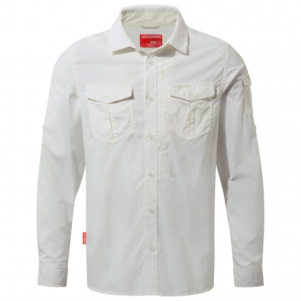 Craghoppers - Nosilife Adventure L/s Shirt - Shirt Size L  Grey