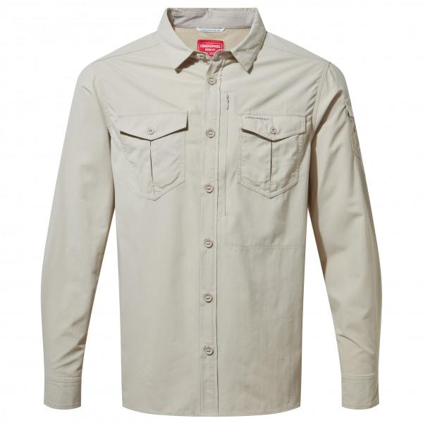 Craghoppers - Nosilife Adventure L/s Shirt - Shirt Size M  Grey
