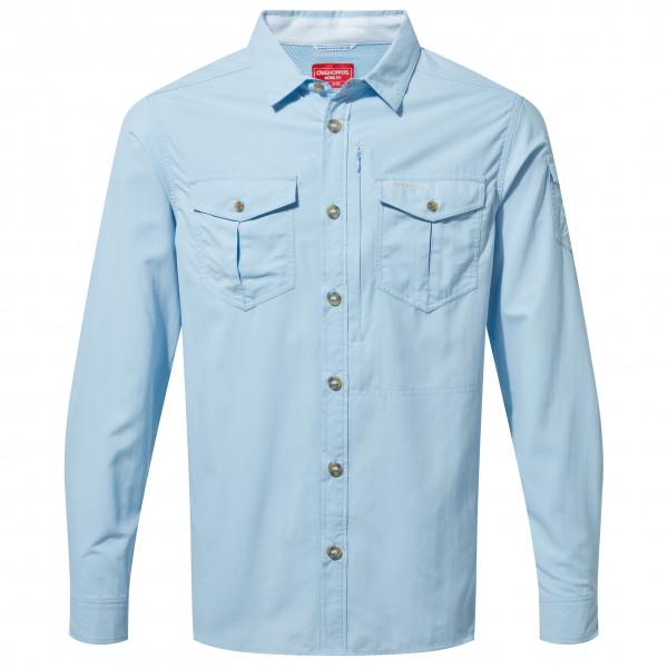 Craghoppers - Nosilife Adventure L/s Shirt - Shirt Size Xl  Grey