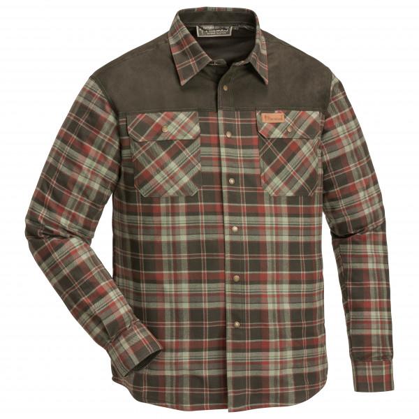 Pinewood - Douglas Hemd - Hemd Gr 3XL;L;M;XL;XXL oliv/grau/schwarz;braun/oliv/schwarz 9436