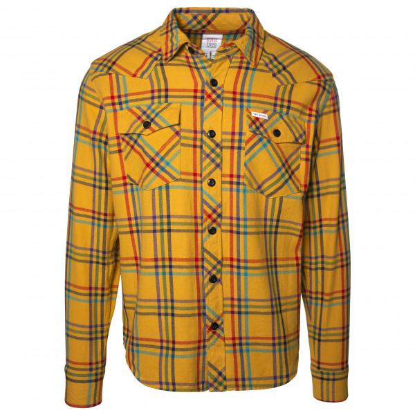 #Topo Designs – Mountain Shirt Plaid – Hemd Gr XL schwarz/blau/lila#