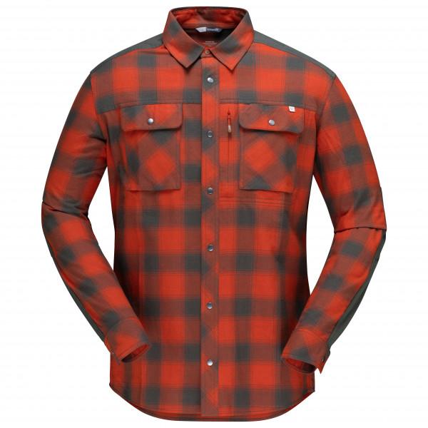 #Norrøna – Svalbard Flannel Shirt – Hemd Gr S rot#