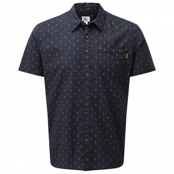#tentree – Cotton Short Sleeve Button Up – Hemd Gr XXL schwarz#
