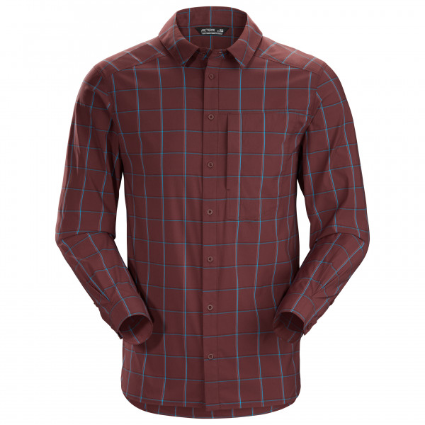 Arc'teryx - Riel Shirt L/S - Hemd Gr M rot/lila 419065
