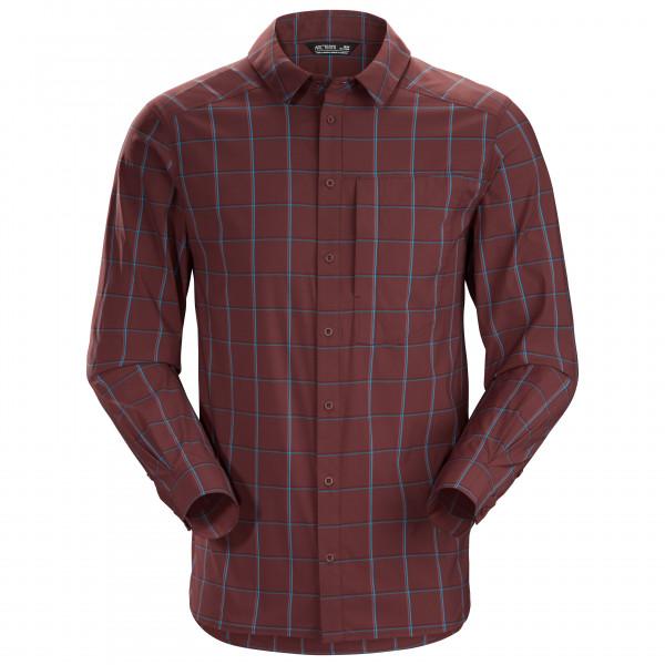 Arc'teryx - Riel Shirt L/S - Hemd Gr L;M;S;XL;XXL schwarz/lila;rot/lila 23018