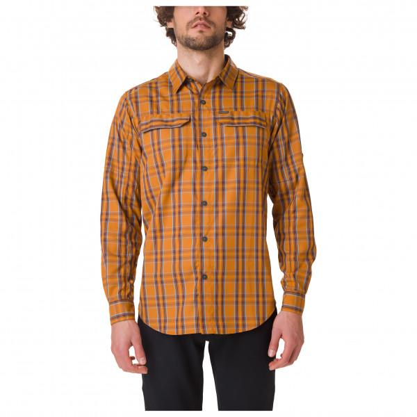 Columbia - Silver Ridge 2.0 Plaid L/S Shirt - Hemd Gr M braun/orange 1838915795