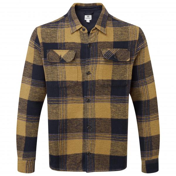 tentree - Heavy Weight Flannel Shirt - Hemd Gr S braun/schwarz