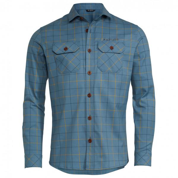 Vaude - Jerpen L/s Shirt Iii - Shirt Size S  Blue/grey