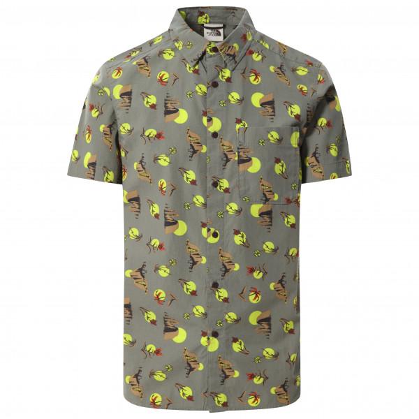 The North Face - S/S Baytrail Pattern Shirt - Hemd Gr L;M;S;XL;XXL grau 55ND