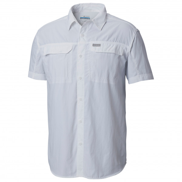 Columbia - Silver Ridge 2.0 Short Sleeve Shirt - Shirt Size S  Grey