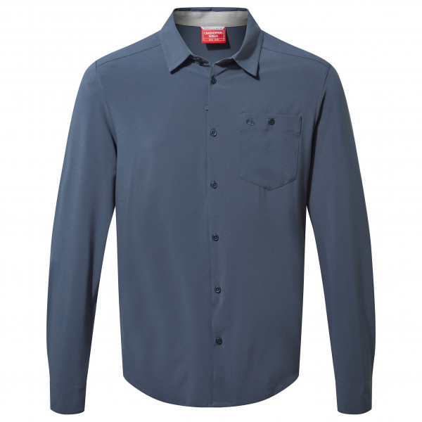 Craghoppers - Nosilife Hedley L/s Shirt - Shirt Size L  Blue