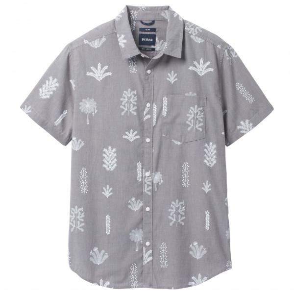 Prana - Roots Studio Shirt - Hemd Gr L - Slim Fit;M - Slim Fit;S - Slim Fit;XL - Slim Fit;XXL - Slim Fit rot;grau M11212706
