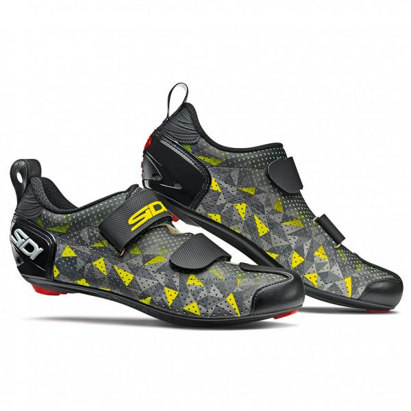 Sidi - T-5 Air Carbon - Cycling Shoes Size 45  Black/grey