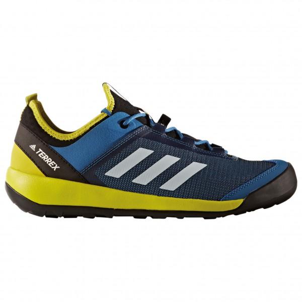adidas - Terrex Swift Solo - Approachschuhe Gr 12 gelb/blau Preisvergleich