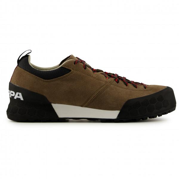 Mountain Equipment - Womens Viper Crop Pant - Climbing Trousers Size 12 - Regular  Orange/brown