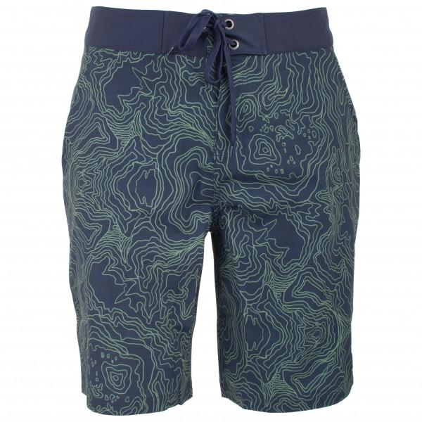 tentree - Congo Boardshort Gr 30 blau/lila/schwarz Sale Angebote Neukieritzsch