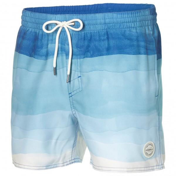 O´Neill - Mid Vert Horizon Shorts - Maillot de bain taille L, gris/bleu