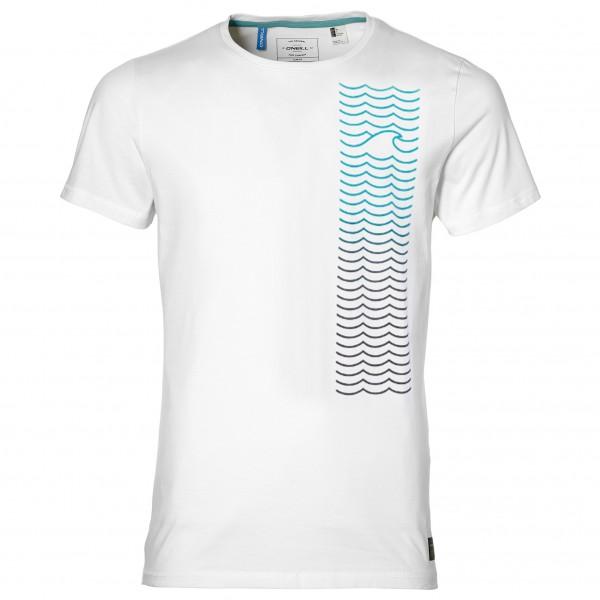 O´Neill - Shoreline Hybrid T-Shirt - Lycra Gr XXL weiß/grau