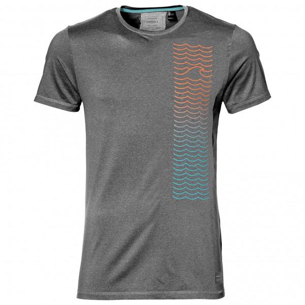O´Neill - Shoreline Hybrid T-Shirt - Lycra Gr L;M;XL weiß/grau;grau