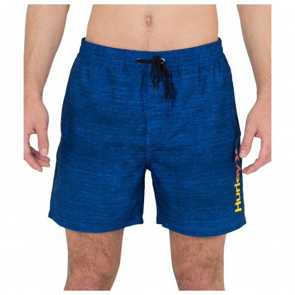 Hurley - C Street Volley 17 - Badehose Gr M blau/beige DB0409H497M