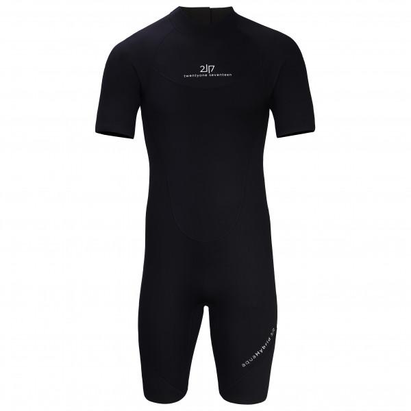 2117 of Sweden - Shorty Wetsuit Aquahybrid 3/2 - Combinaison néoprène taille S, noir