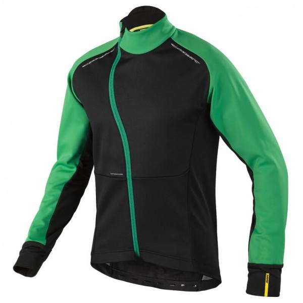 Mavic Cosmic Pro Wind Jacket Fietsjack maat S, black-green