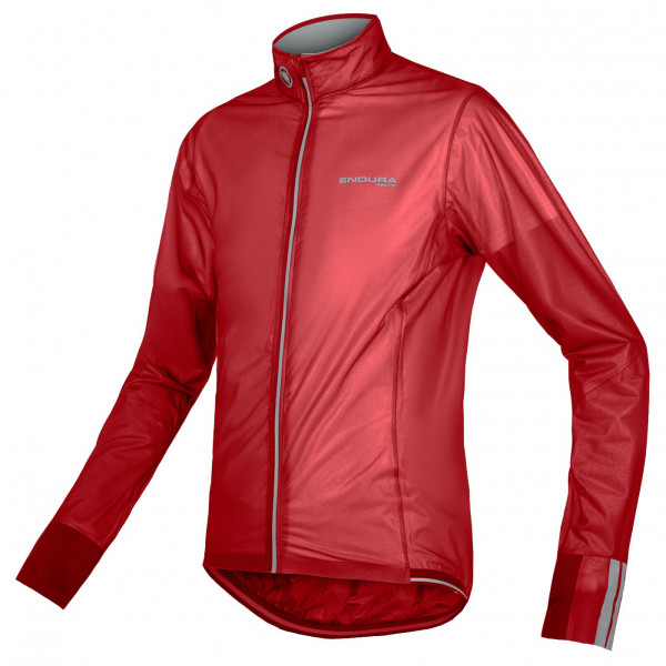 Endura - FS260-Pro Adrenaline Race Cape II - Fahrradjacke Gr XL rot/rosa E9106RD/6