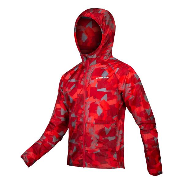 Endura - Singletrack Durajak - Cycling Jacket Size L  Red