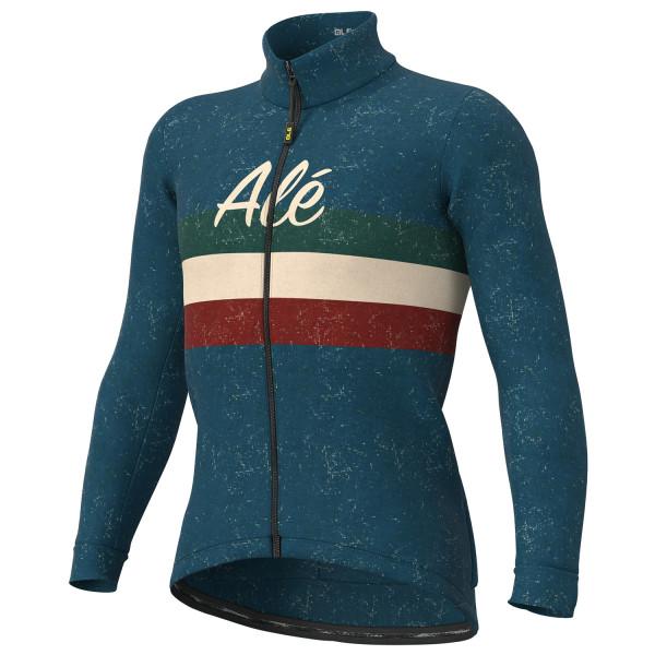Alé - Vintage Jacket - Fahrradjacke Gr XL blau/schwarz