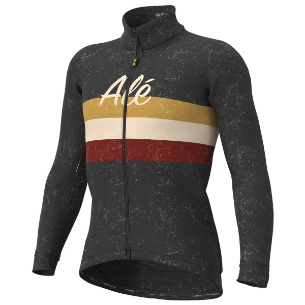 Alé - Vintage Jacket - Fahrradjacke Gr L;M;S;XL;XXL blau/schwarz;schwarz