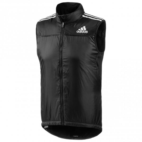 adidas Adistar Belgements Primaloft West Fietsbodywarmer maat S zwart-wit