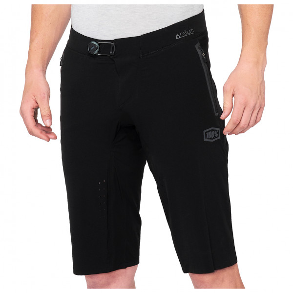 100% - Celium Enduro/Trail Short - Pantalon de cyclisme taille 30``;32``;34``;36``;38``, noir/beige