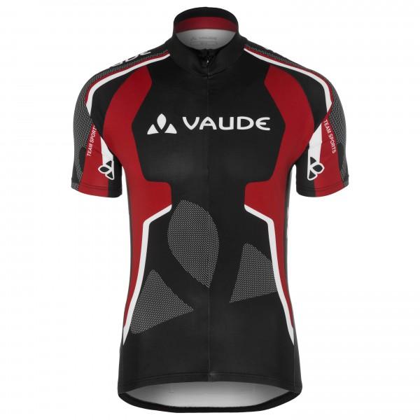 Vaude - Team Tricot - Radtrikot Gr XXL schwarz/rot