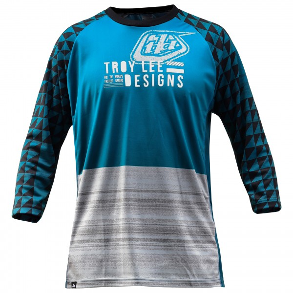 Troy Lee Designs - Ruckus Jersey Radtrikot Gr XXL blau/grau/schwarz