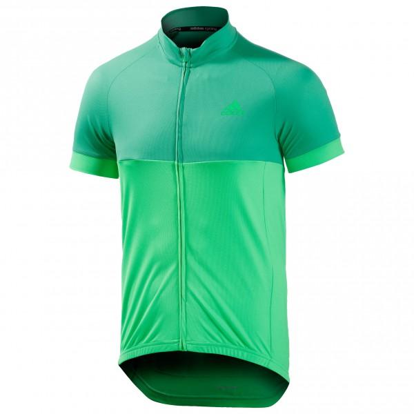 adidas Response Team S-S Jersey Fietsshirt maat S groen-turkoois