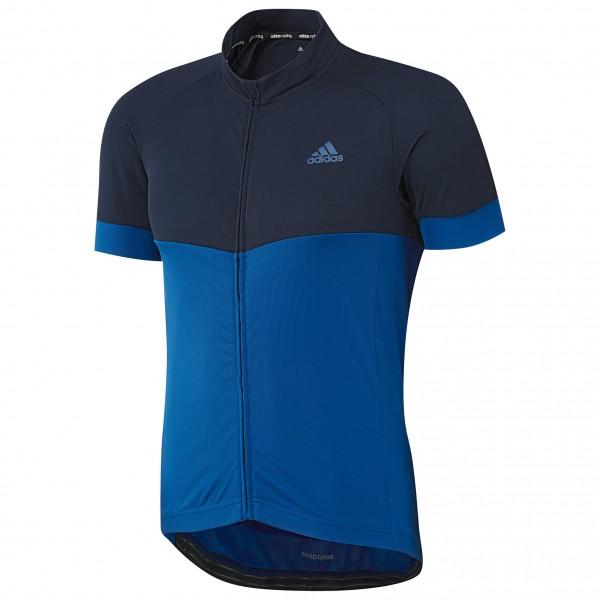 adidas Response Team S-S Jersey Fietsshirt maat S blauw-zwart