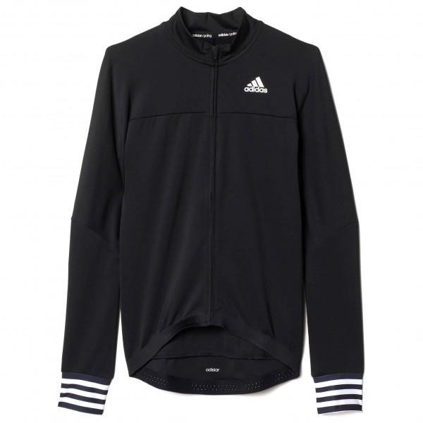 adidas Adistar L-S Jersey Fietsshirt maat XL zwart