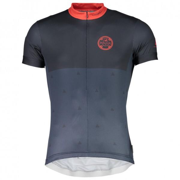 Neiße-Malxetal Angebote Maloja - PushbikersM. 1/2 Radtrikot Gr M;S;XL schwarz/blau/grau;weiß/grau;braun/schwarz