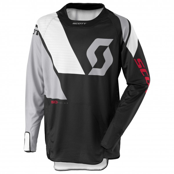 Scott - Jersey 450 Podium Radtrikot Gr M;XXL schwarz/grau Sale Angebote Lutzketal