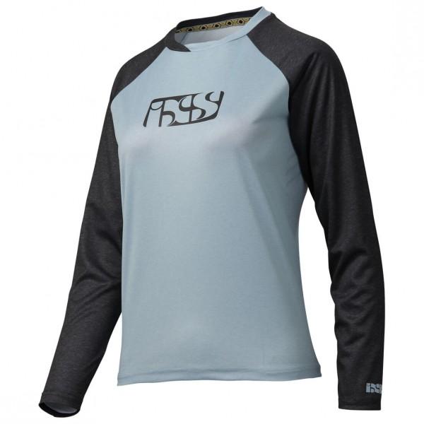 iXS - Progressive 7.1 Trail Lady Longsleeve Jersey Gr 38 grau/schwarz Sale Angebote Drieschnitz-Kahsel
