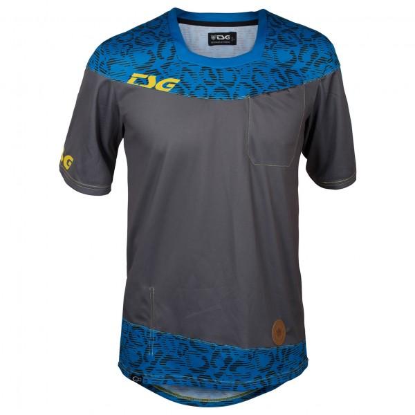 TSG - SP1 Jersey S/S Radtrikot Gr L schwarz/blau